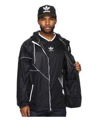 Adidas Originals   Black Tech Jacket for Men   Lyst