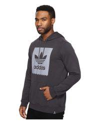 Adidas Originals - Garment Dye Blackbird Hoodie for Men - Lyst