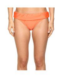 Splendid | Orange Stitch Solid Banded Pants | Lyst