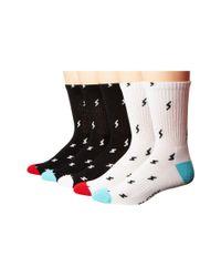 Globe - Multicolor Lightning Sport Socks 5-pair Pack - Lyst