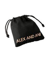 ALEX AND ANI - Metallic Purple Precious Threads Bracelet - Lyst