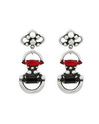 DANNIJO | Metallic Bombay Earrings | Lyst
