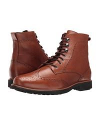 Massimo Matteo - Multicolor Perf Wing Boot for Men - Lyst