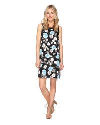 Kensie | Black Botanical Garden Dress Ks1k7778 | Lyst