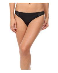 Stella McCartney   Black Neoprene & Mesh Classic Bikini Bottom   Lyst