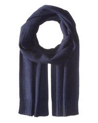 VINCE   Blue Cashmere Scarf for Men   Lyst