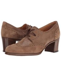 Gravati | Brown Wingtip Heel | Lyst