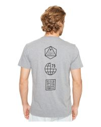 Penfield | Gray Icons Short Sleeve Tee for Men | Lyst