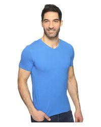 Calvin Klein - Blue S&z V-neck Tee for Men - Lyst