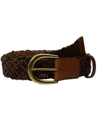 Fossil - Multicolor Woven Belt - Lyst