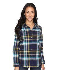 Pendleton   Blue Sierra Plaid Shirt   Lyst