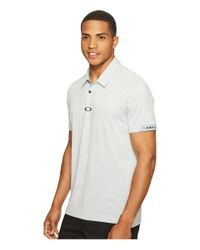 Oakley - White Gravity Polo for Men - Lyst