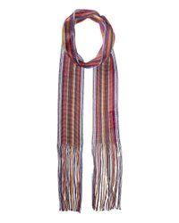 Missoni - Multicolor Skinny Knit Tie Scarf - Lyst
