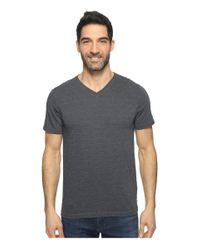 Agave | Blue Hal Short Sleeve V-neck Tri-blend Jersey Stripe Block for Men | Lyst