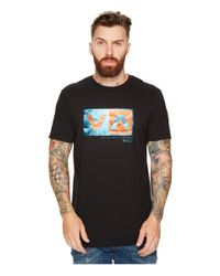 RVCA - Black Land Sea Tee for Men - Lyst