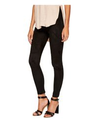 Bishop + Young - Black Suede Leggings - Lyst