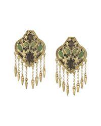 House of Harlow 1960 | Metallic Montezuma Statement Earrings | Lyst