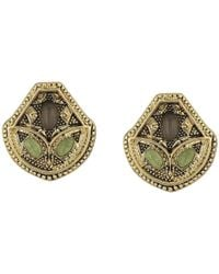 House of Harlow 1960 - Metallic Montezuma Stud Earrings - Lyst