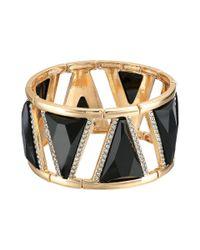 Guess - Metallic Wide Stretch Bracelet - Lyst