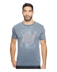 Lucky Brand | Blue Drinking King Graphic Tee for Men | Lyst