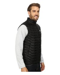 The North Face - Black Thermoballtm Vest for Men - Lyst