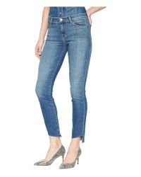 J Brand Blue Maude Mid-rise Cigarette In Cheerful (cheerful) Jeans