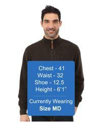 Woolrich - Brown Bromley Half Zip for Men - Lyst
