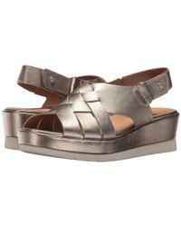 Earth - Metallic Sunflower (seaport Blue Soft Buck) Women's Shoes - Lyst