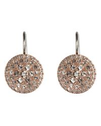 Fossil - Metallic Vintage Glitz Earrings - Lyst