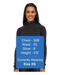 Smartwool   Gray Nts Mid 250 Zip Top   Lyst