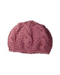 San Diego Hat Company - Red Knh3473 Popcorn Beanie (blush) Beanies - Lyst