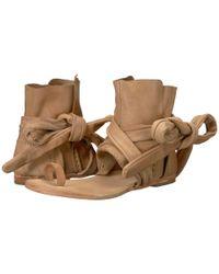 Free People - Pink Delaney Boot Sandal - Lyst