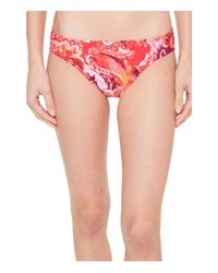 Lauren by Ralph Lauren - Pink Exotic Paisley Printed Hipster Bottom - Lyst