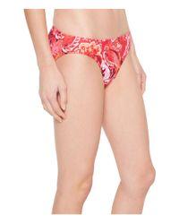 Lauren by Ralph Lauren - Pink Exotic Paisley Printed Hipster Bottom - Lyst