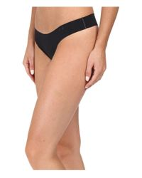 Under Armour - Black Ua Pure Stretch Thong - Lyst
