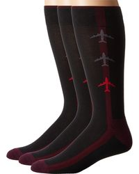 Hue - Black Jetsetter Sock 3-pack for Men - Lyst