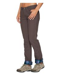 Mountain Khakis - Gray Camber 106 Pants Classic Fit (yellowstone) Women's Casual Pants - Lyst