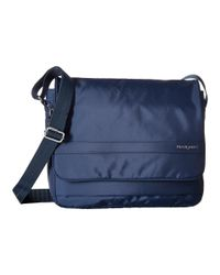 Hedgren Blue Coralie Crossbody With Flap