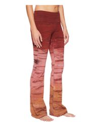 Hard Tail - Red Rolldown Bootleg Flare Pants - Lyst