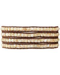 Chan Luu | Brown Semi Precious Stone Bracelet | Lyst