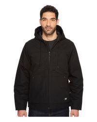 Timberland - Baluster Insulated Hooded Work Jacket (black) Men's Coat for Men - Lyst