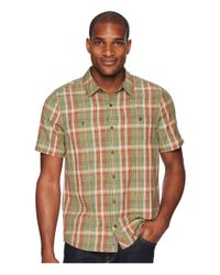 Toad&Co - Brown Smythy S/s Shirt (borealis) Men's Short Sleeve Button Up for Men - Lyst