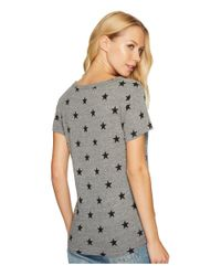 Alternative Apparel - Gray Ideal Star Print Tee - 100% Bloomingdale's Exclusive - Lyst