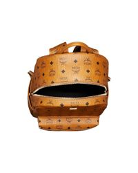 MCM - Multicolor Stark No Stud Medium Backpack (cognac) Backpack Bags for Men - Lyst