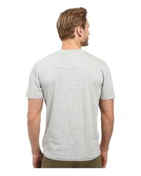 Agave - Metallic Agave Supima Crew Neck Short Sleeve Tee (black) Men's T Shirt for Men - Lyst