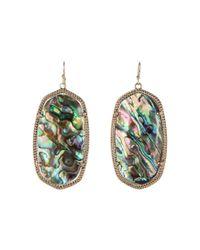 Kendra Scott - Multicolor Danielle Earrings (rose Gold/brown Mother Of Pearl) Earring - Lyst