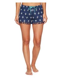 Lucky Brand - Blue Pineapple Graphic Tee Short Set - Lyst