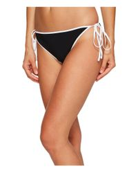 Jonathan Simkhai | Black Reversible String Bikini Bottoms | Lyst