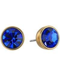 Kate Spade - Blue Forever Gems Small Studs Earrings - Lyst