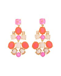 Kate Spade | Pink Kate Spade Chandelier Earrings | Lyst